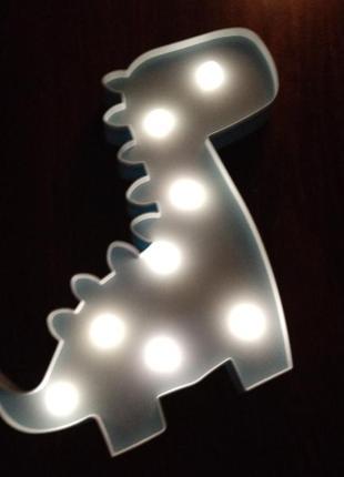 Светильник ночник дино