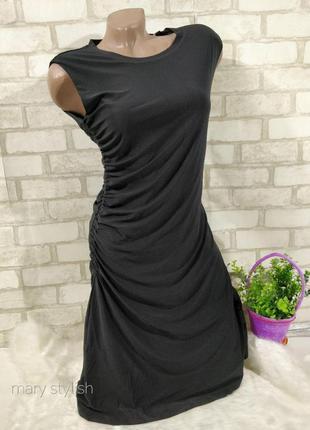 Платье черное  по фигурке