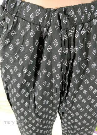 Удобные повседневные штаны летние2 фото