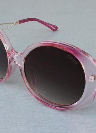 Chloe очки женские солнцезащитные розовые