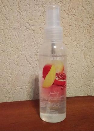"Лосьон-спрей для тела avon ""сочный гранат и манго"", 100 мл"