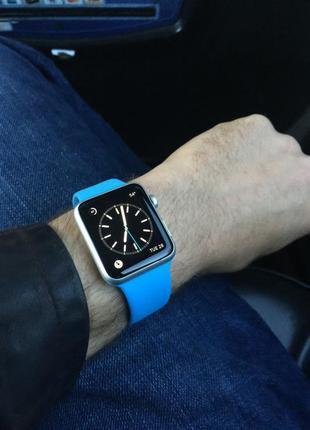 Силиконовый спортивный ремешок sport band для apple watch