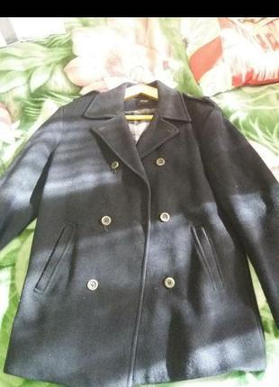 Кашемировое пальто 44-46