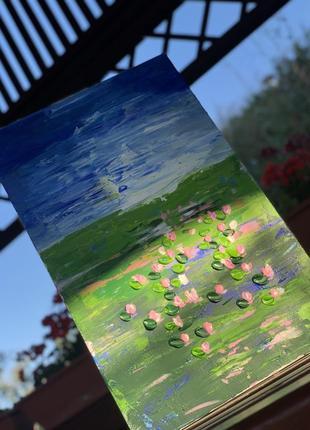 Картина лилии