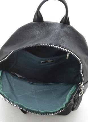 Новый женский городской чёрный рюкзак5 фото