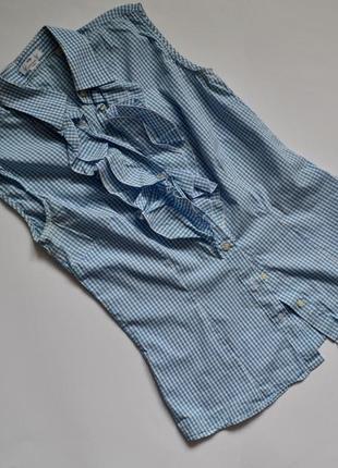 Рубашка голубой цвет