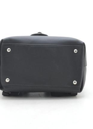 Новый женский чёрный городской рюкзак4 фото