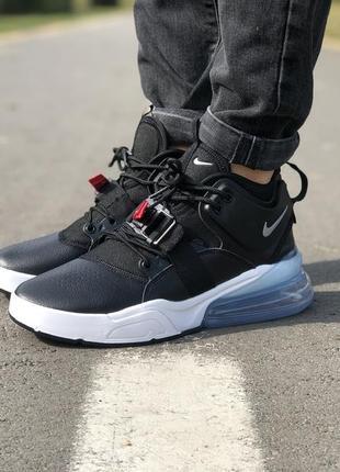 Стильные кроссовки 🔥 nike air force 270 black/white🔥