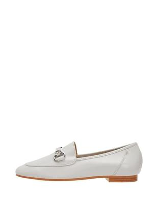 Кожаные мокасины bianco (дания) # кожаные лоферы # туфли на низком каблуке