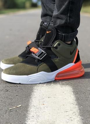 Стильные кроссовки 🔥 nike air force 270 olive green black/white/red🔥