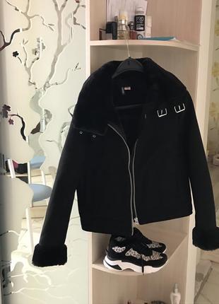Куртка байкер авиатор