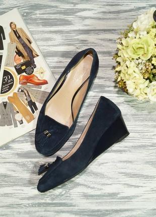 🌿36🌿footglove. замша. красивые туфли на удобном каблучке