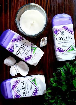 Crystal body deodorant💖 невидимый твердый роликовый дезодорант без запаха 70 г