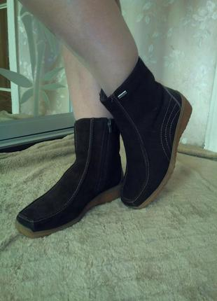 Зимние полусапожки сапоги ботинки rohde 39 размера.sympatex.на шерсти натуральной.идеальн.