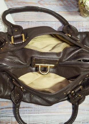 Chloe. оригинал. номерная. кожа. брендовая сумка7 фото