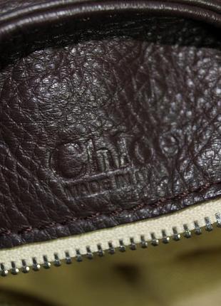 Chloe. оригинал. номерная. кожа. брендовая сумка9 фото