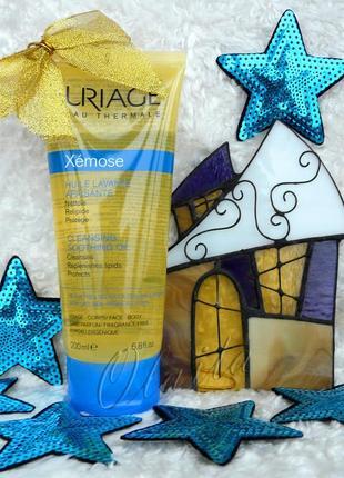 Uriage xemose масло для душа успокаивающее для атопической и сухой кожи 200 мл