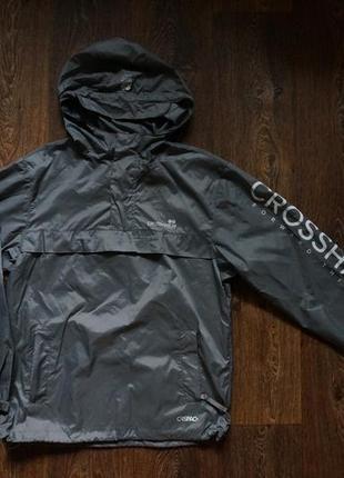 Мужская куртка ветровка анорак дождевик crosshatch