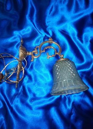 Светильник под старину + подарок