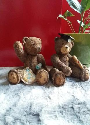 Декоративные статуэтки мишки тедди пара