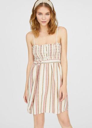 Платье сарафан stradivarius
