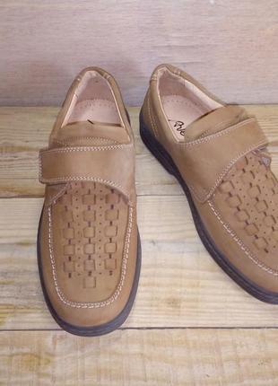 Летние туфли на подростка почти новые 39р