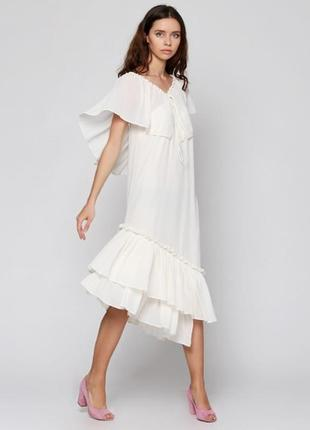 40; 42 в наличии !невероятной красоты платье от &other stories