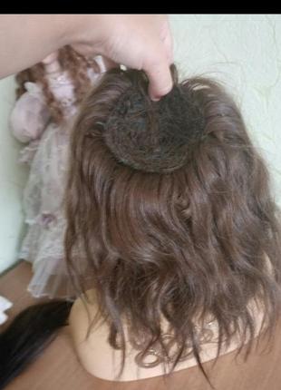 Славянские волосы шиньон до 100 грамм
