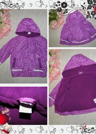 Куртка kiki&koko (р.92-98 на 2-3роки) курточка плащ дождевик
