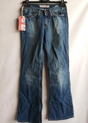 Джинсы клеш премиум класса pepe jeans оригинал европа англия