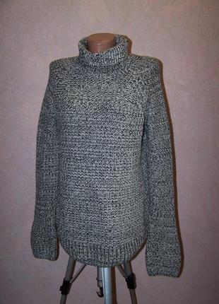 Толстый свитер с горловиной грубая вязка &other stories