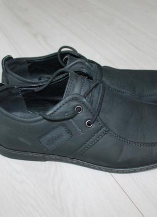Туфли мокасины нубук разм 39