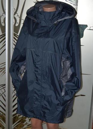 Непромокаемая непродуваемая куртка ветровка унисекс