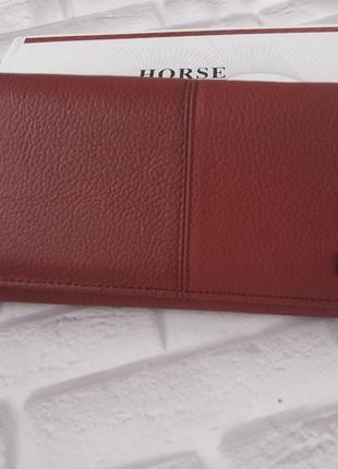 Женский кожаный кошелек из натуральной кожи шкіряний жіночий гаманець