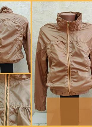 Куртка ветровка пиджак молния змейка