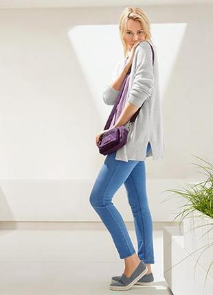 Классные укороченные джинсы джеггинсы tcm tchibo р-ры 48 евро