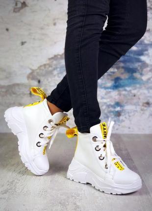 Натуральные кожаные ботинки 5837ллт