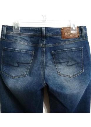 Очень удобные синие джинсы клеш colin's, размер 29-30