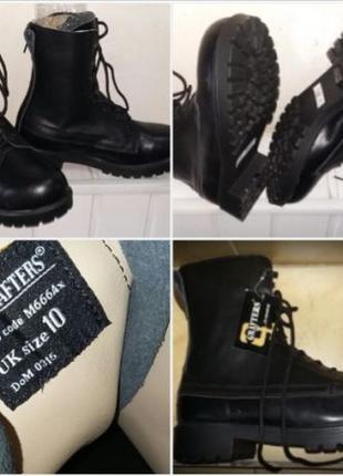 Ботинки кожаные берцы grafters uniform england