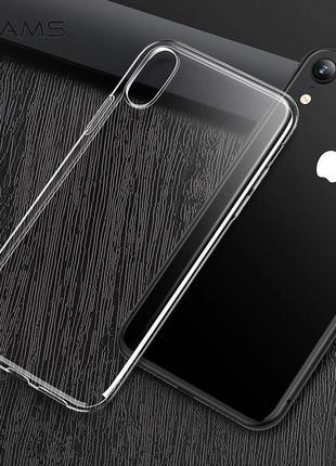 Новый прозрачный силиконовый чехол на iphone 6/6s plus