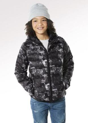 Курточка для мальчика подростка черная осень
