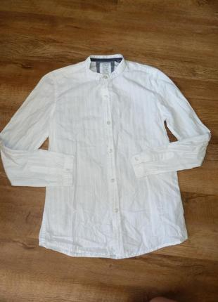 Белая рубашка зара zara на 9-10 лет