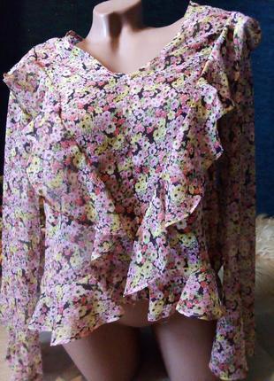 Брендовая блузка полиэстер