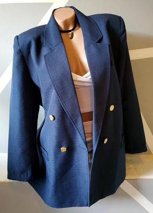 Шикарный легкий пиджак бойфренд оверсайз свободный