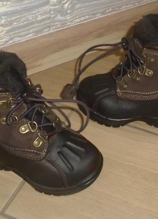 Timberland ботинки 21 р термо зима