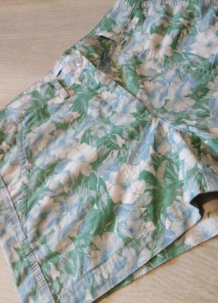 Брендовые шорты натуральный состав