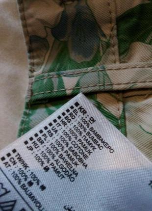 Брендовые шорты натуральный состав6 фото