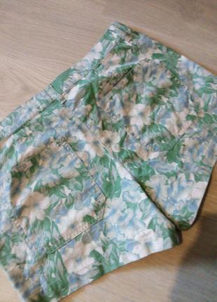 Брендовые шорты натуральный состав7 фото