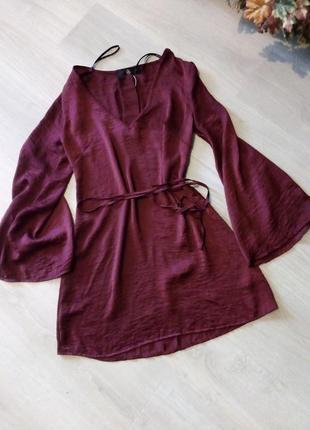 Платье туника с чокером