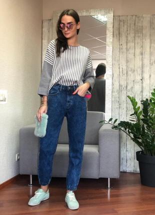 Женские джинсы pronto moda (италия) размер s